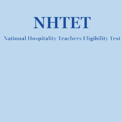 Crash Course for NCHMCT NHTET